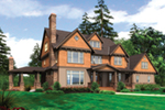 Country House Plan Front of Home -  011S-0142 | House Plans and More