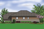 Modern House Plan Color Image of House -  011S-0144 | House Plans and More