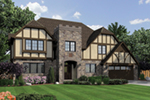 Luxury House Plan Front of Home -  011S-0147 | House Plans and More