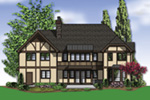 Luxury House Plan Color Image of House -  011S-0147 | House Plans and More