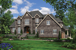 European House Plan Front of House 011S-0163