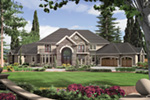 European House Plan Front Image -  011S-0164 | House Plans and More