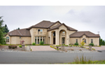 European House Plan Front of Home -  011S-0164 | House Plans and More