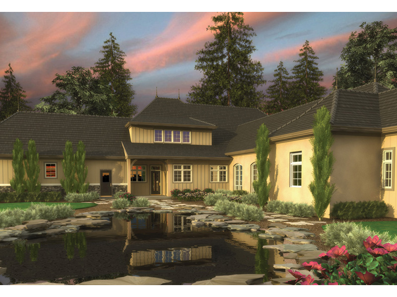 Luxury House Plan Front Image -  011S-0170 | House Plans and More