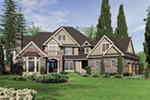 Luxury House Plan Front of Home -  011S-0172 | House Plans and More