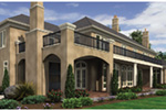 European House Plan Rear Photo 03 -  011S-0182 | House Plans and More