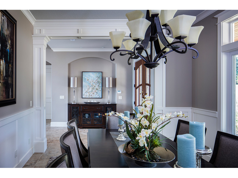 Luxury House Plan Dining Room Photo 01 - Powers Hill Luxury Home 011S-0191 | House Plans and More