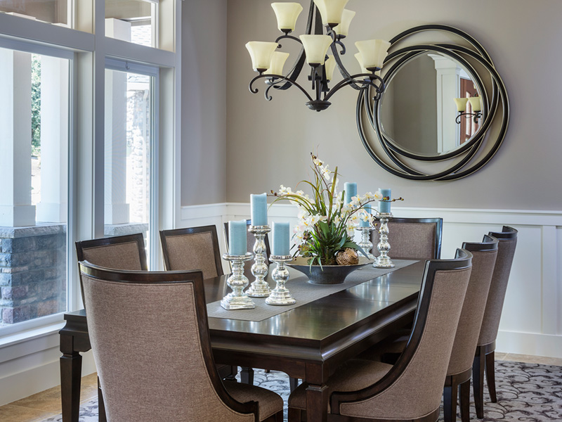 Luxury House Plan Dining Room Photo 02 - Powers Hill Luxury Home 011S-0191 | House Plans and More