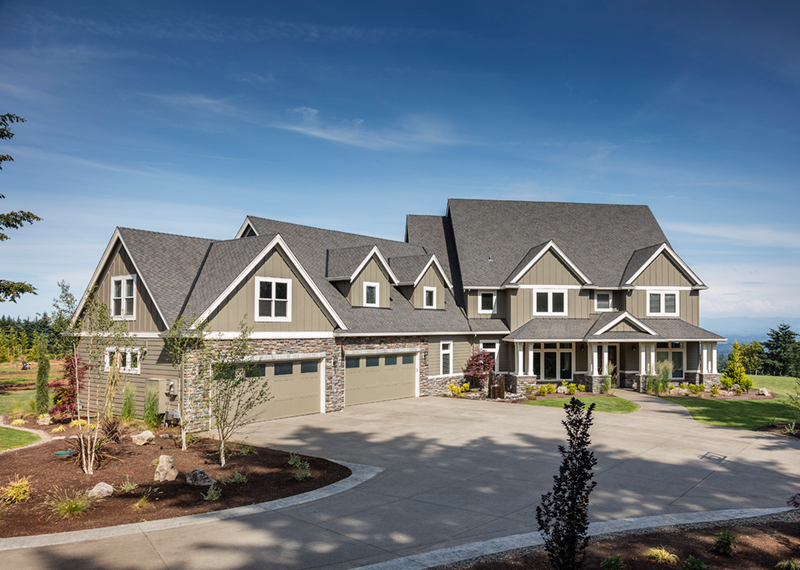Luxury House Plan Front of Home - Powers Hill Luxury Home 011S-0191 | House Plans and More