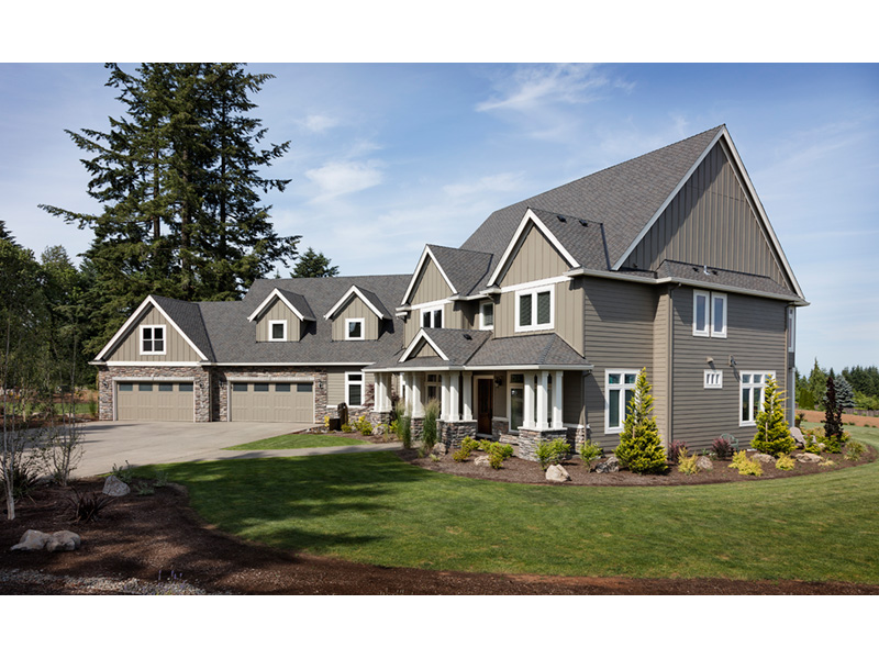Luxury House Plan Front Photo 02 - Powers Hill Luxury Home 011S-0191 | House Plans and More