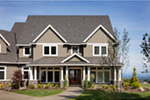 Luxury House Plan Front Photo 06 - Powers Hill Luxury Home 011S-0191 | House Plans and More