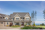 Luxury House Plan Front Photo 07 - Powers Hill Luxury Home 011S-0191 | House Plans and More