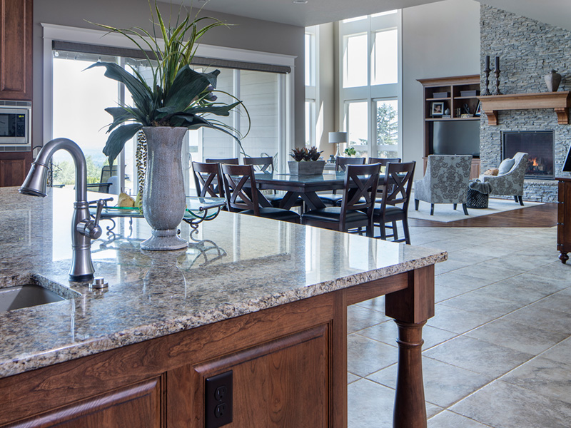 Luxury House Plan Kitchen Photo 04 - Powers Hill Luxury Home 011S-0191 | House Plans and More