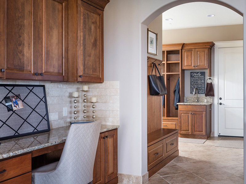 Luxury House Plan Kitchen Photo 09 - Powers Hill Luxury Home 011S-0191 | House Plans and More