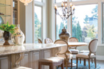 Shingle House Plan Dining Room Photo 01 - Rainier Bay Luxury Home 011S-0195 | House Plans and More