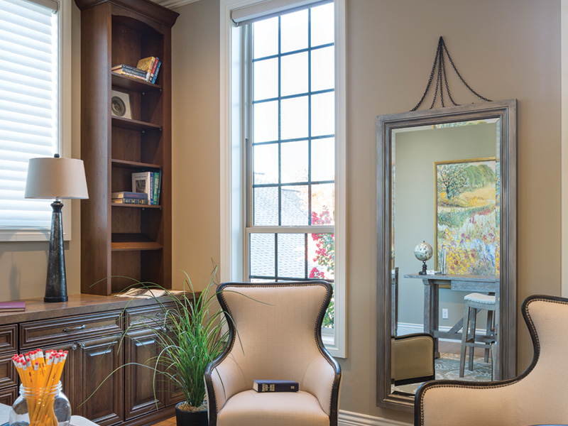 Shingle House Plan Family Room Photo 01 - Rainier Bay Luxury Home 011S-0195 | House Plans and More