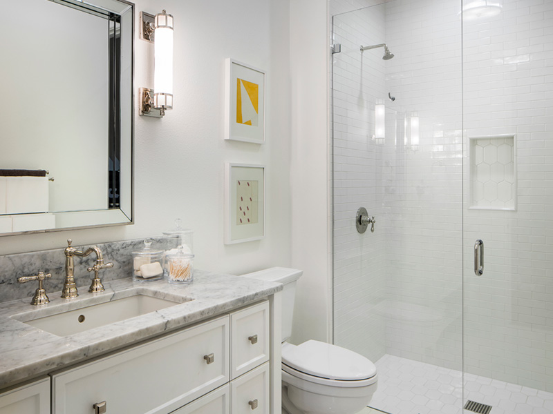 Luxury House Plan Bathroom Photo 02 - Asbury Park Luxury Home  011S-0196 | House Plans and More