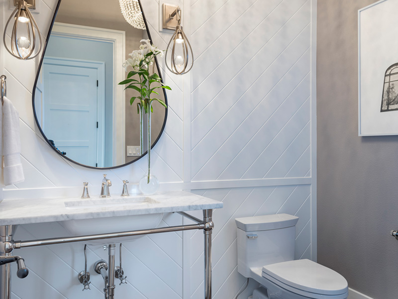 Luxury House Plan Bathroom Photo 04 - Asbury Park Luxury Home  011S-0196 | House Plans and More