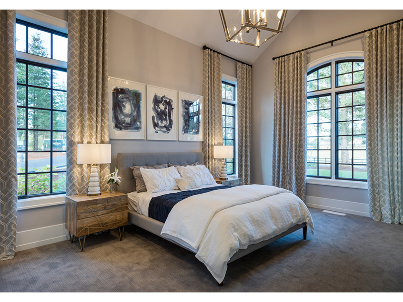 Luxury House Plan Bedroom Photo 04 - Asbury Park Luxury Home  011S-0196 | House Plans and More