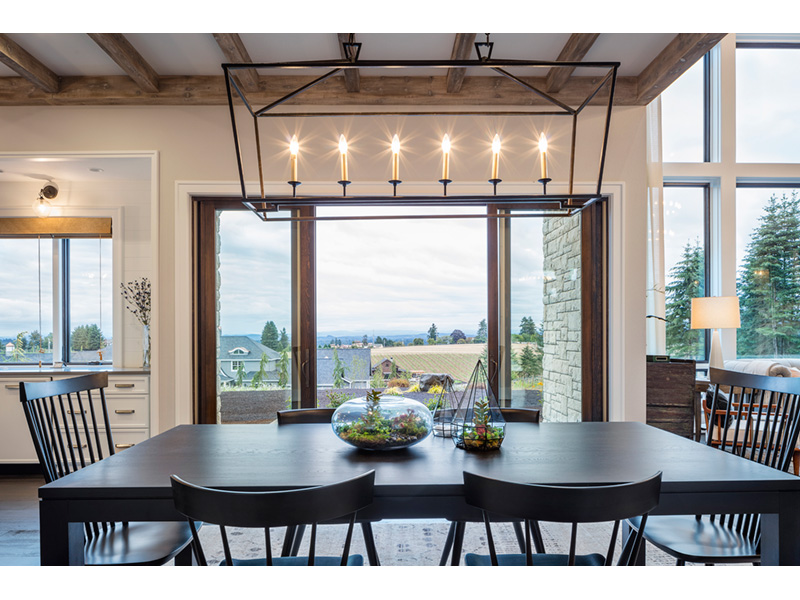 Luxury House Plan Dining Room Photo 01 - Asbury Park Luxury Home  011S-0196 | House Plans and More