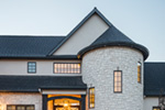 Luxury House Plan Entry Photo 01 - Asbury Park Luxury Home  011S-0196 | House Plans and More