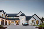 Luxury House Plan Front Photo 07 - Asbury Park Luxury Home  011S-0196 | House Plans and More