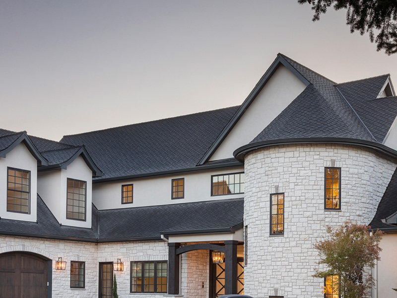 Luxury House Plan Front Photo 08 - Asbury Park Luxury Home  011S-0196 | House Plans and More