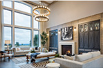 Luxury House Plan Great Room Photo 02 - Asbury Park Luxury Home  011S-0196 | House Plans and More
