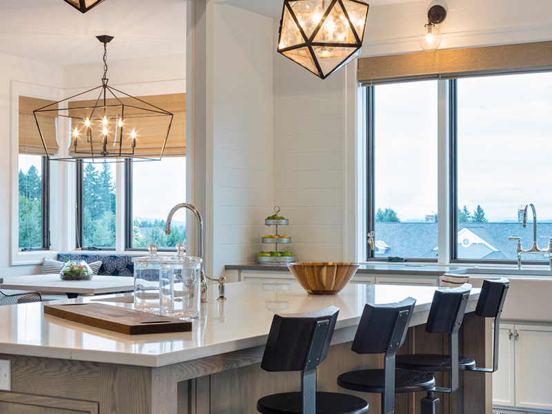 Luxury House Plan Kitchen Photo 04 - Asbury Park Luxury Home  011S-0196 | House Plans and More