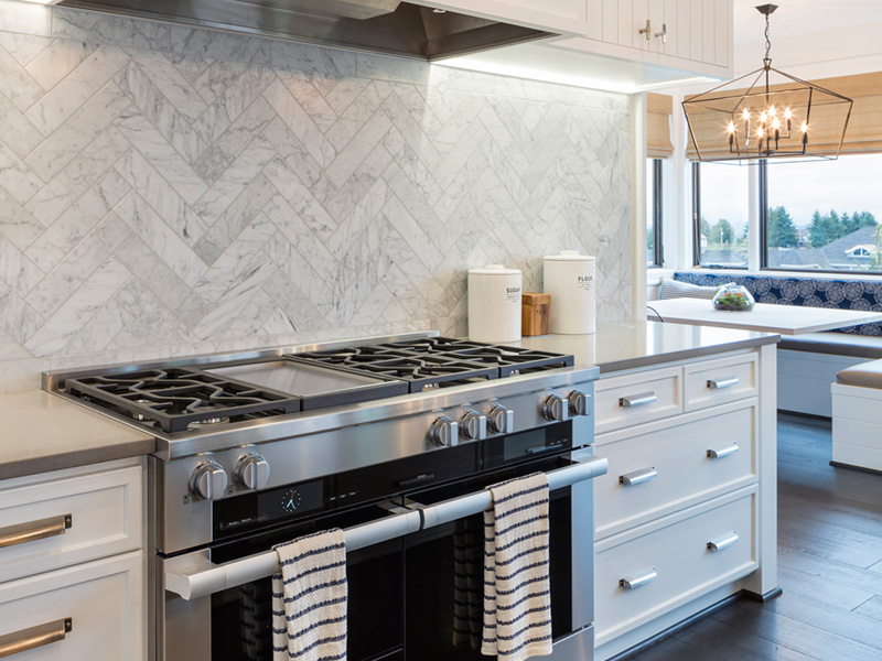 Luxury House Plan Kitchen Photo 05 - Asbury Park Luxury Home  011S-0196 | House Plans and More