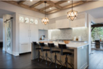 Luxury House Plan Kitchen Photo 09 - Asbury Park Luxury Home  011S-0196 | House Plans and More