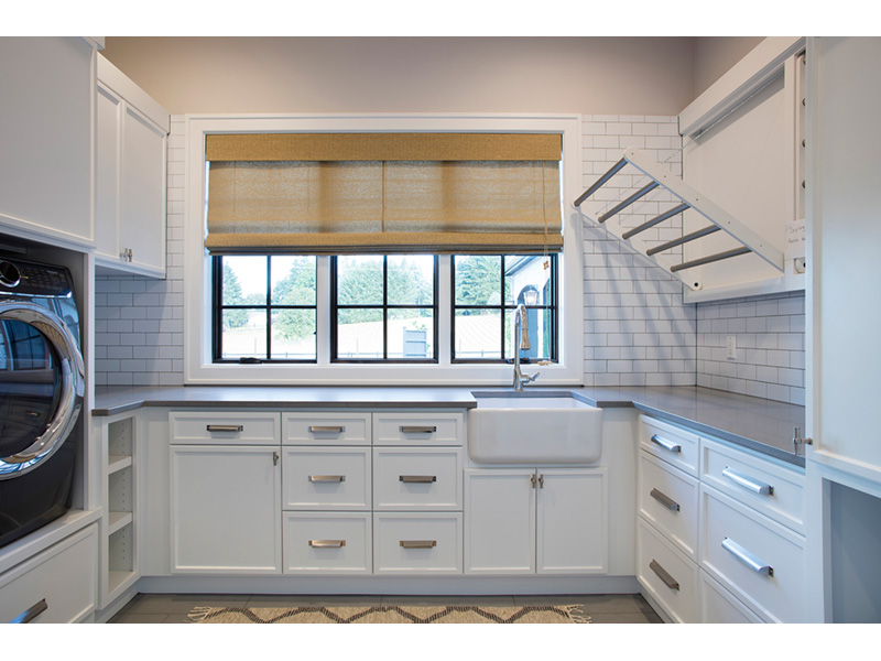 Luxury House Plan Laundry Room Photo 01 - Asbury Park Luxury Home  011S-0196 | House Plans and More