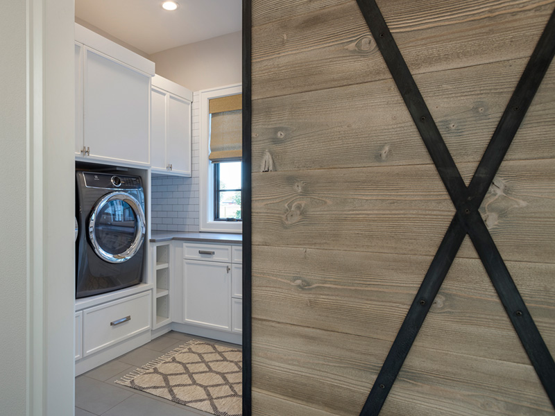 Luxury House Plan Laundry Room Photo 02 - Asbury Park Luxury Home  011S-0196 | House Plans and More