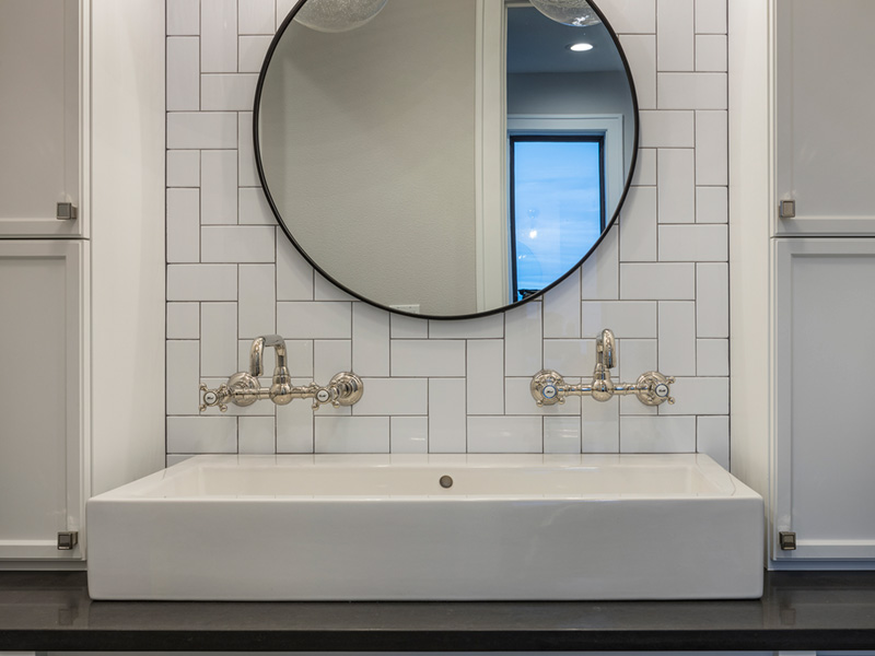 Luxury House Plan Master Bathroom Photo 02 - Asbury Park Luxury Home  011S-0196 | House Plans and More