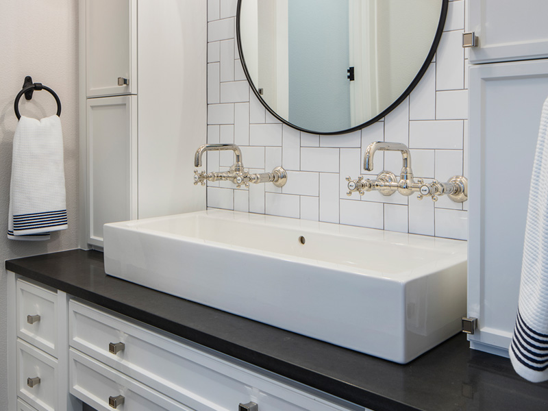 Luxury House Plan Master Bathroom Photo 03 - Asbury Park Luxury Home  011S-0196 | House Plans and More
