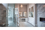 Luxury House Plan Master Bathroom Photo 06 - Asbury Park Luxury Home  011S-0196 | House Plans and More