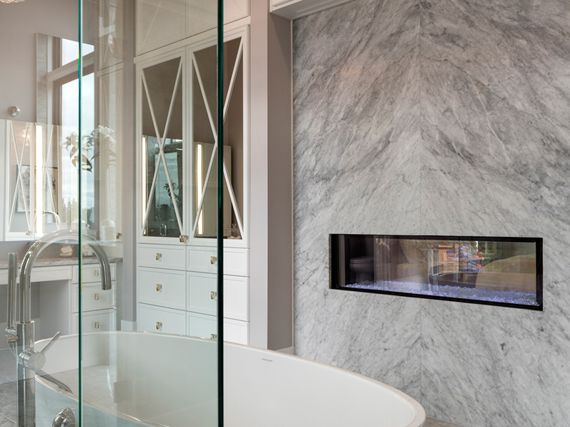 Luxury House Plan Master Bathroom Photo 08 - Asbury Park Luxury Home  011S-0196 | House Plans and More