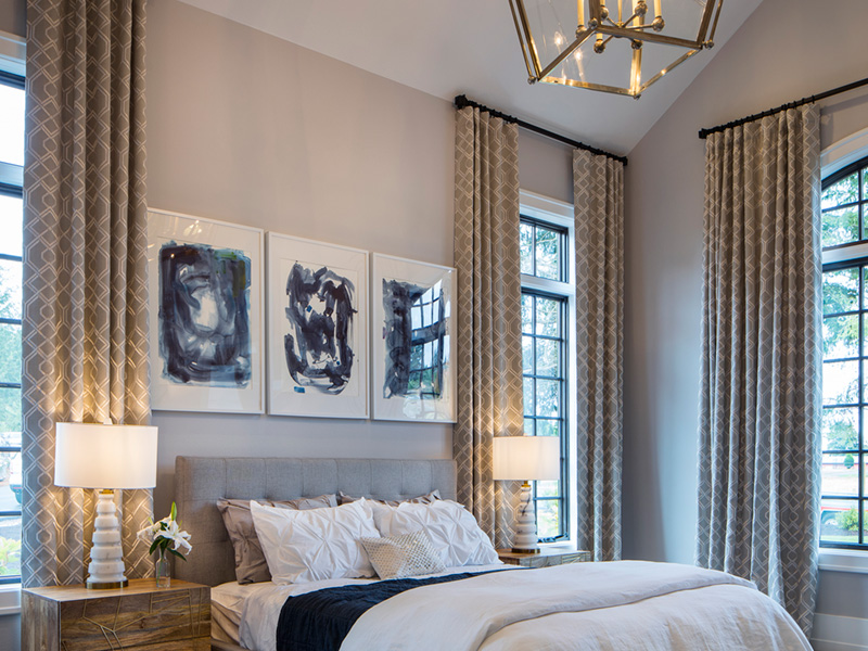 Luxury House Plan Master Bedroom Photo 05 - Asbury Park Luxury Home  011S-0196 | House Plans and More