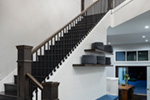 Luxury House Plan Stairs Photo - Asbury Park Luxury Home  011S-0196 | House Plans and More
