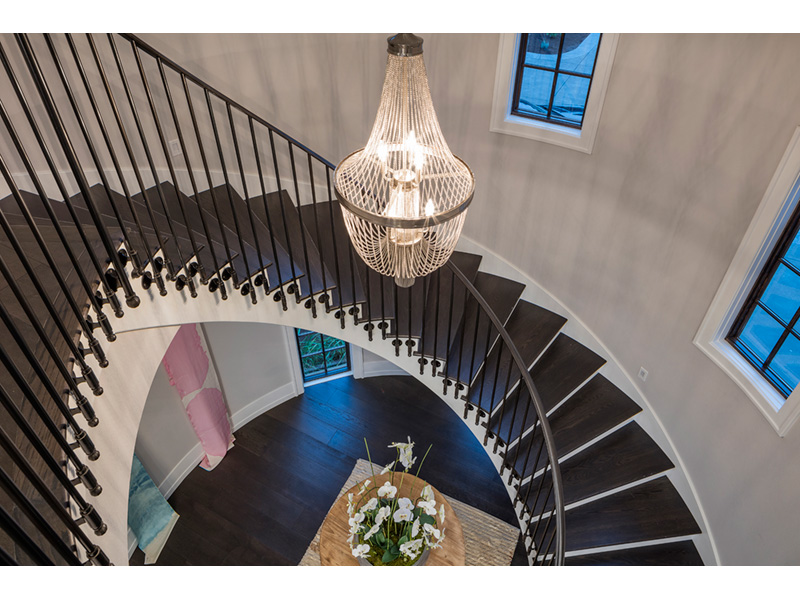 Luxury House Plan Stairs Photo 01 - Asbury Park Luxury Home  011S-0196 | House Plans and More