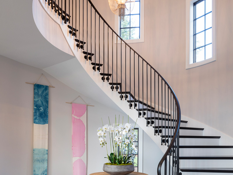Luxury House Plan Stairs Photo 02 - Asbury Park Luxury Home  011S-0196 | House Plans and More