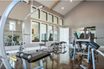 Luxury House Plan Workout Room Photo - Asbury Park Luxury Home  011S-0196 | House Plans and More