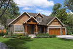 Lake House Plan Front Image -  011S-0203 | House Plans and More