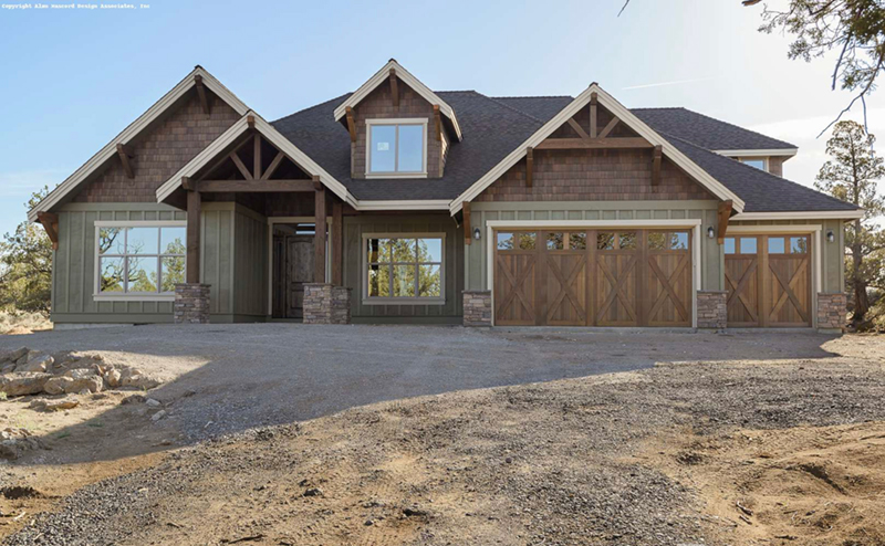 Lake House Plan Front of Home -  011S-0203 | House Plans and More