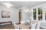 Craftsman House Plan Dining Room Photo 01 -  011S-0210 | House Plans and More