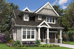 Craftsman House Plan Front Image -  011S-0210 | House Plans and More