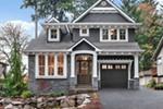 Craftsman House Plan Front of Home -  011S-0210 | House Plans and More