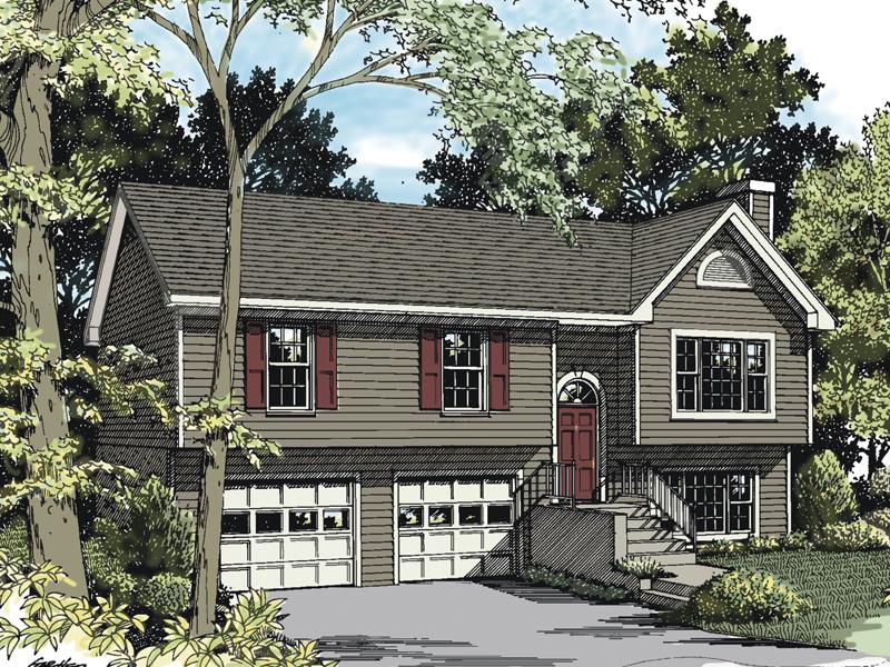 Woodland Park Split Level Home Plan 013d 0005 House Plans And More