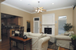 Country House Plan Family Room Photo 01 - Ellisport Ranch Home 013D-0015 | House Plans and More