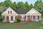 Country House Plan Front Image - Ellisport Ranch Home 013D-0015 | House Plans and More